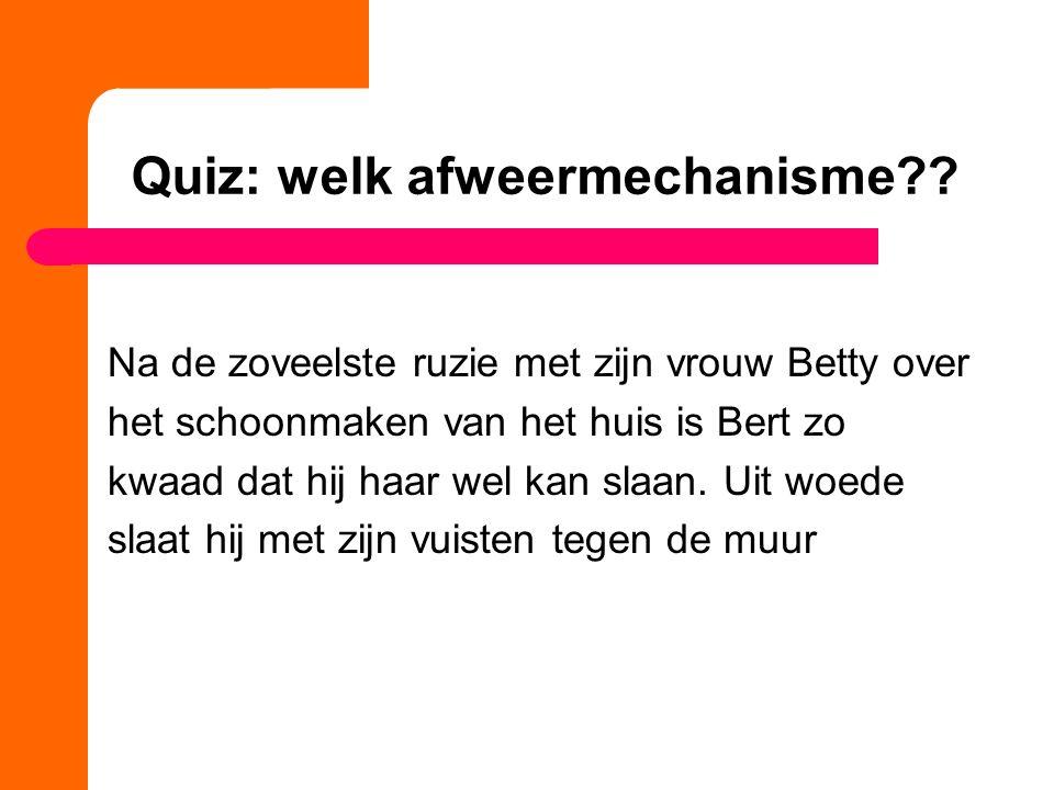 Quiz: welk afweermechanisme?.