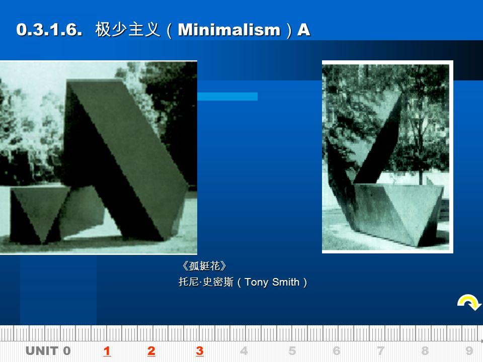 UNIT 0 1 2 3 4 5 6 7 8 9123 0.3.1.5. 波普艺术 (Pop Art) 0.3.1.5.