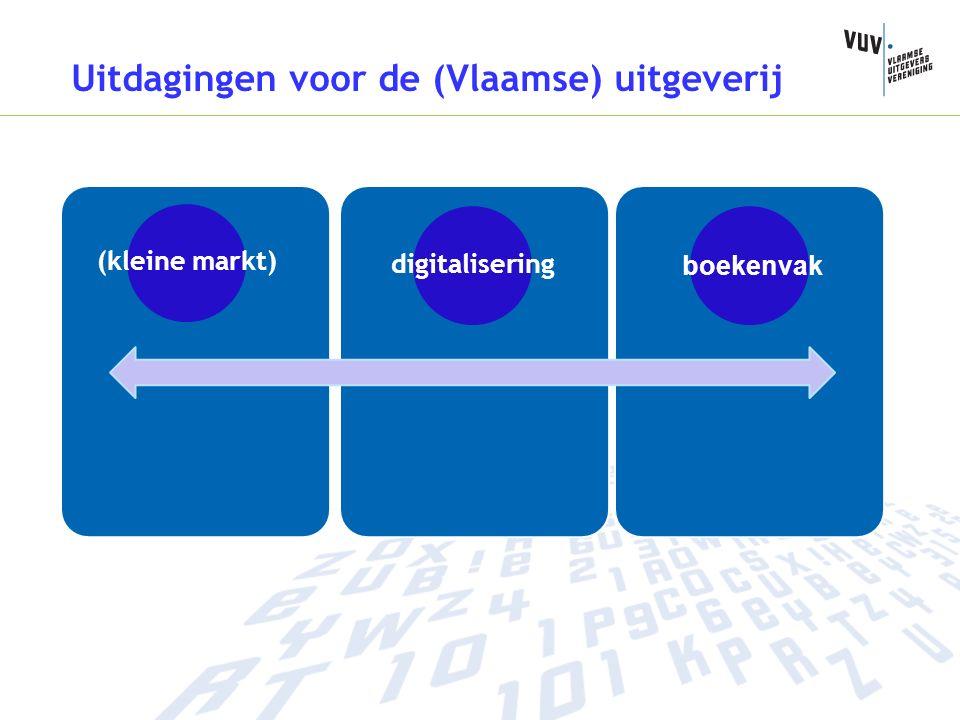 (kleine markt) digitalisering boekenvak Uitdagingen voor de (Vlaamse) uitgeverij