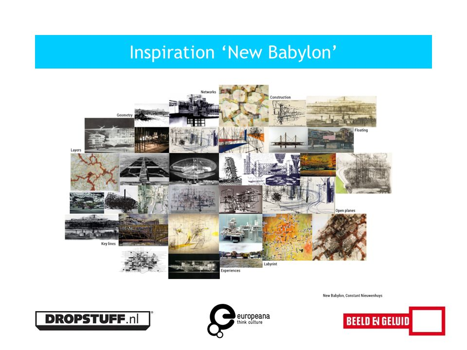 Inspiration 'New Babylon'