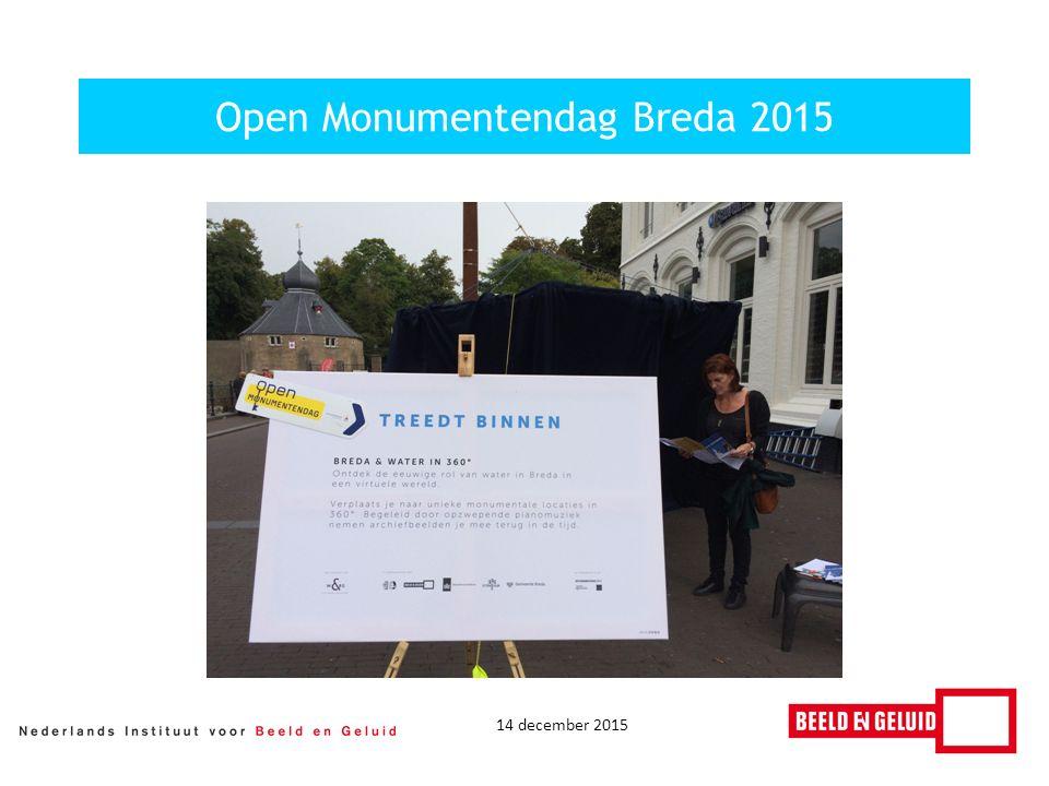 14 december 2015 Open Monumentendag Breda 2015