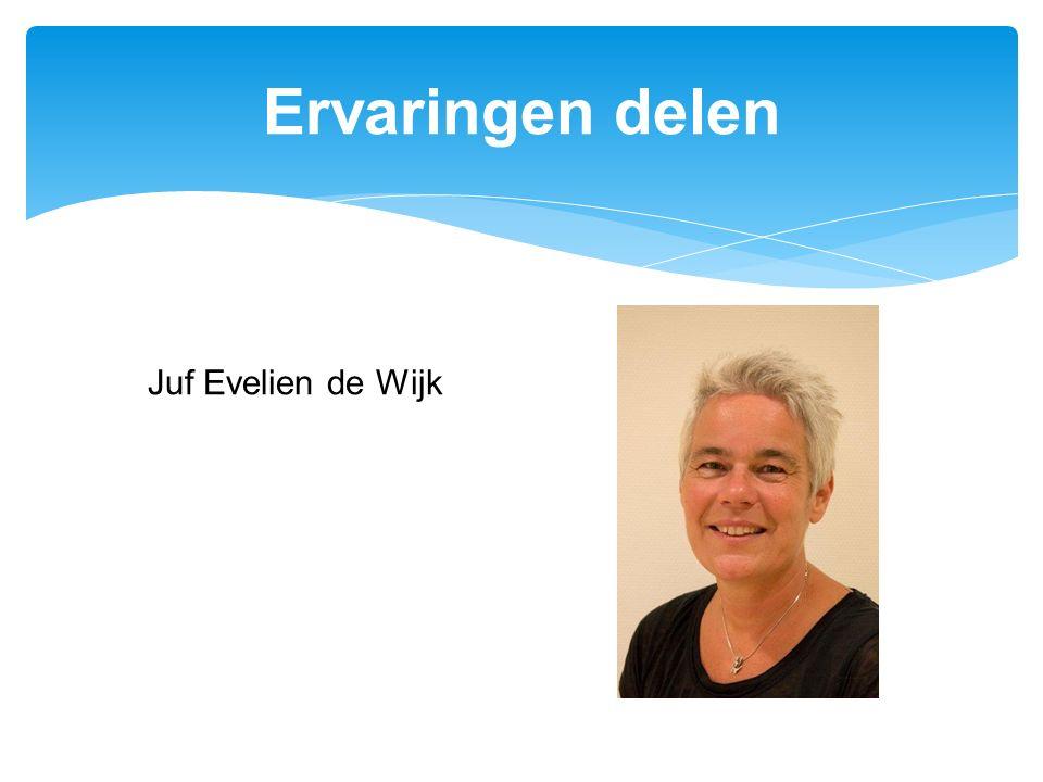 Ervaringen delen Juf Evelien de Wijk