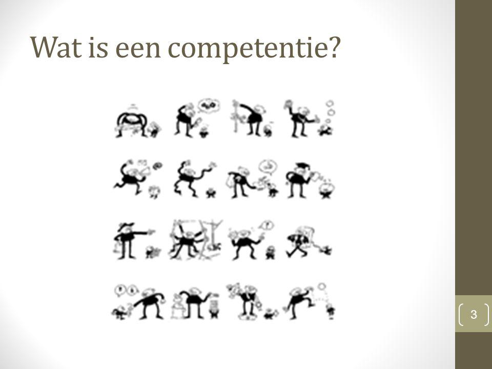 Wat is een competentie 3
