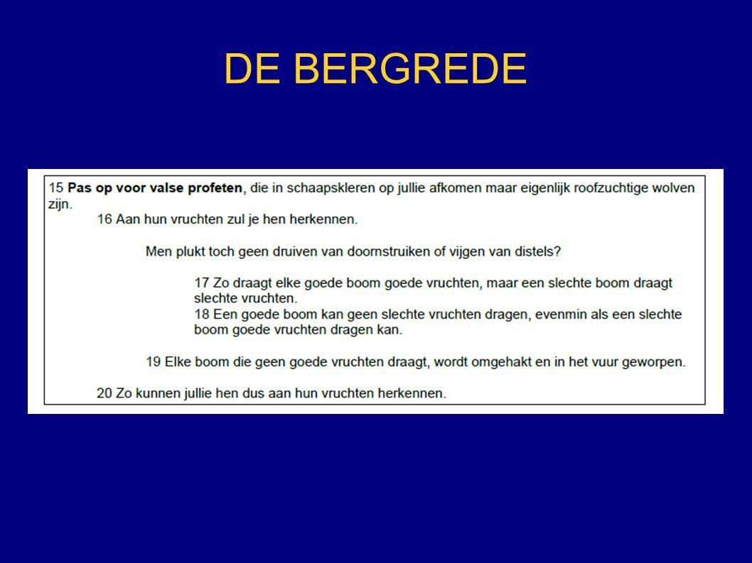 DE BERGREDE