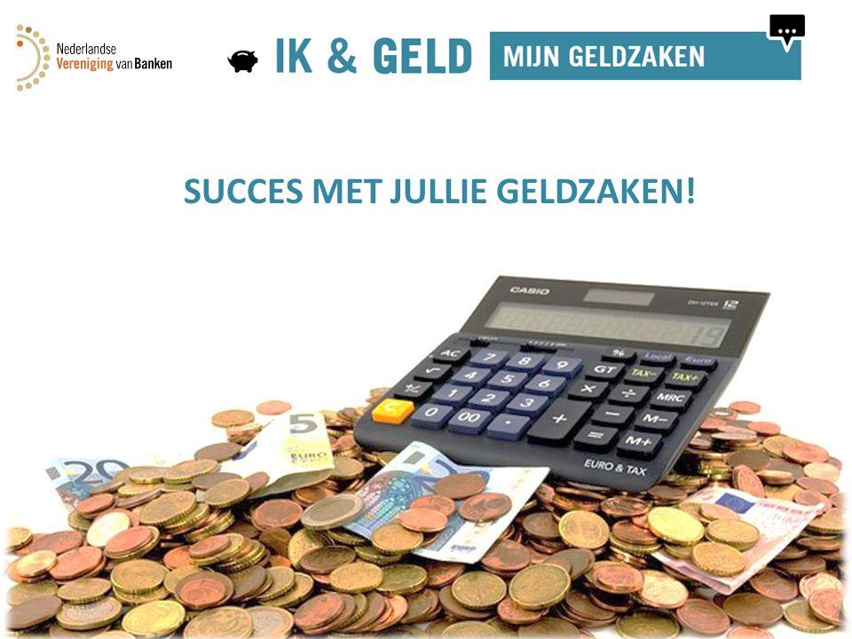 Module 2: Mijn inkomsten16 SUCCES MET JULLIE GELDZAKEN!
