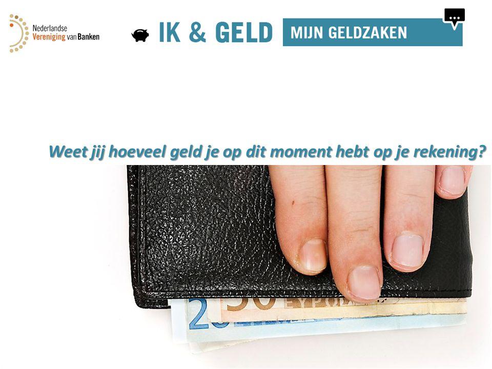 ..van de Nederlandse jongeren hebben geen overzicht over hun geldzaken 44 %