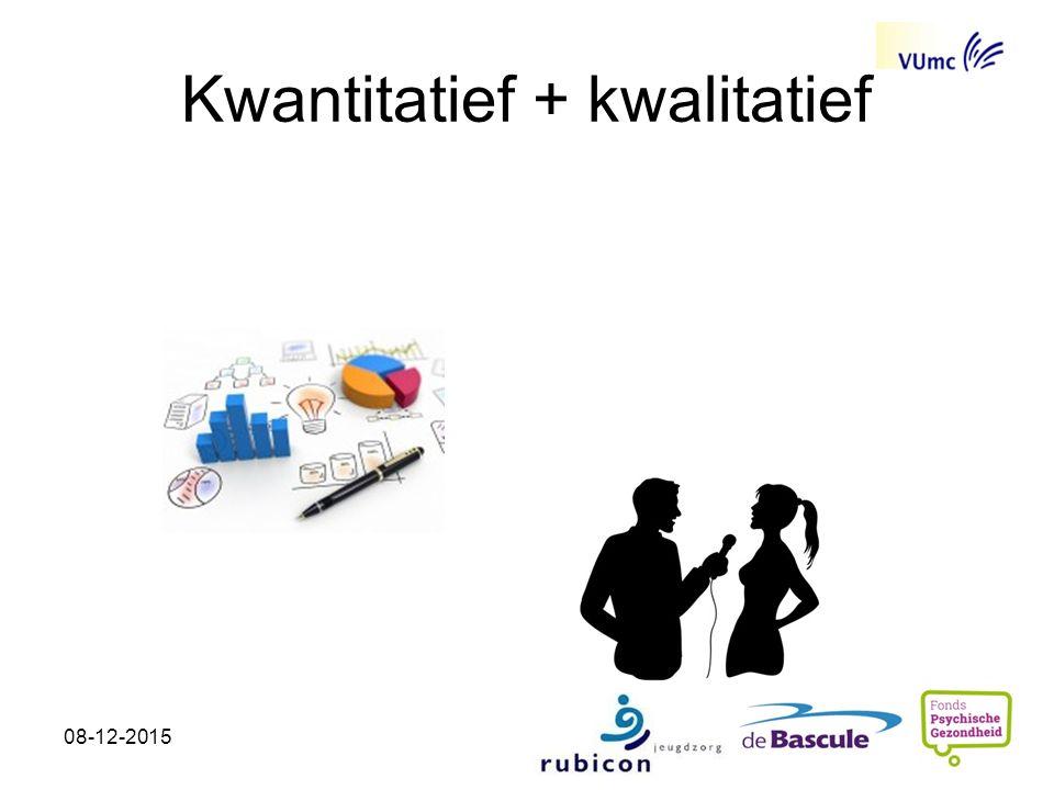 Kwantitatief + kwalitatief 08-12-2015
