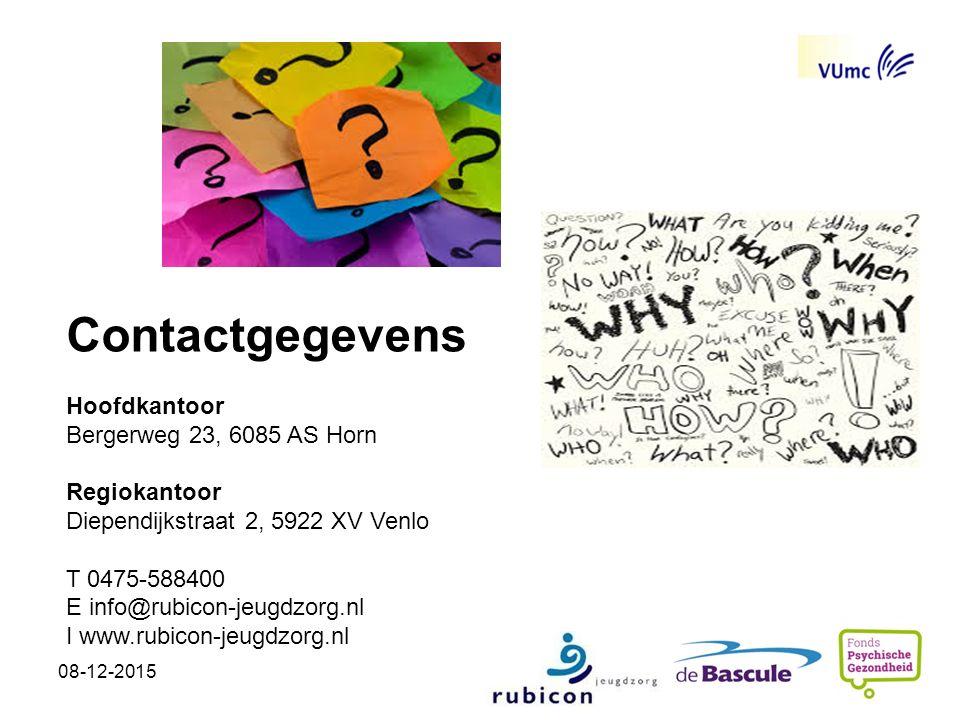 Contactgegevens Hoofdkantoor Bergerweg 23, 6085 AS Horn Regiokantoor Diependijkstraat 2, 5922 XV Venlo T 0475-588400 E info@rubicon-jeugdzorg.nl I www