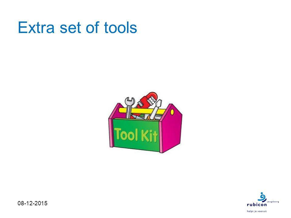 Extra set of tools 08-12-2015