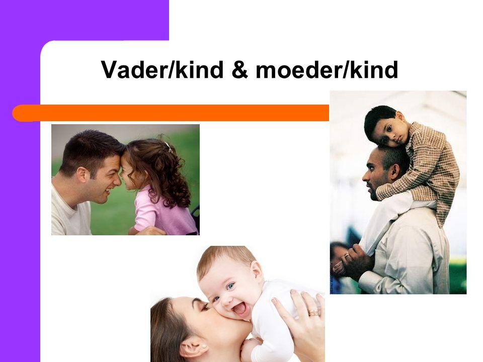 Vader/kind & moeder/kind