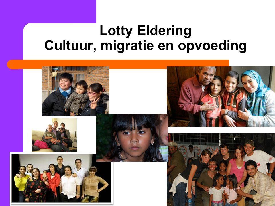 29 Lotty Eldering Cultuur, migratie en opvoeding