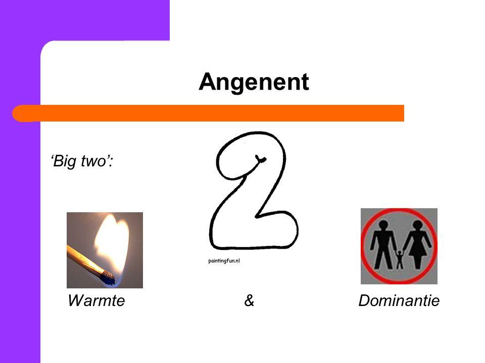 Angenent 'Big two': Warmte& Dominantie