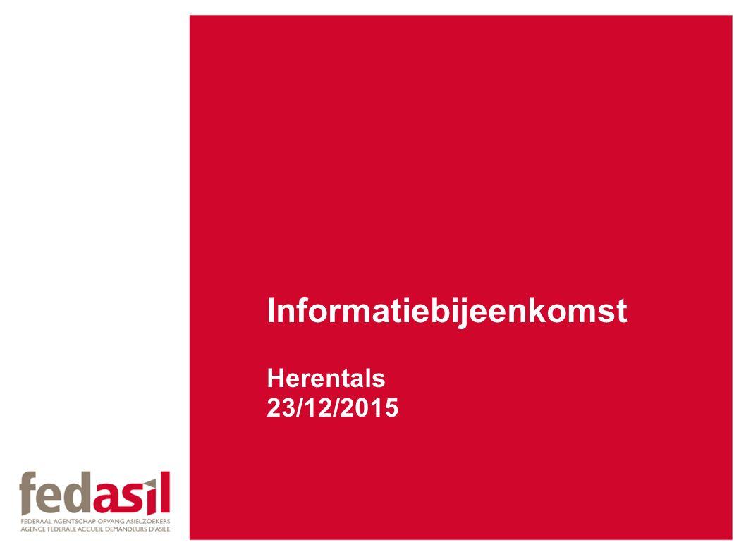 Informatiebijeenkomst Herentals 23/12/2015