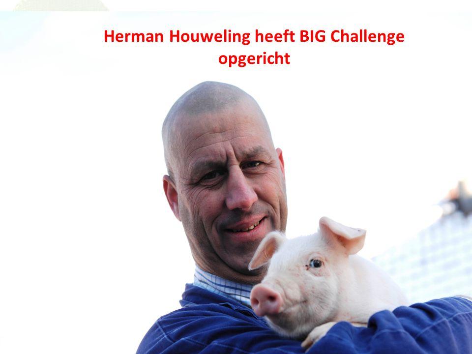 Herman had een droom Ondanks zijn ziekte wilde Herman niet bij de pakken neer zitten.