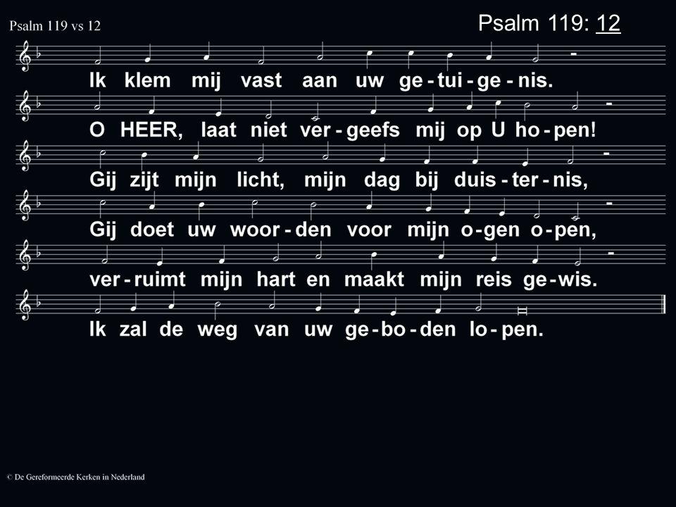 Psalm 119: 12