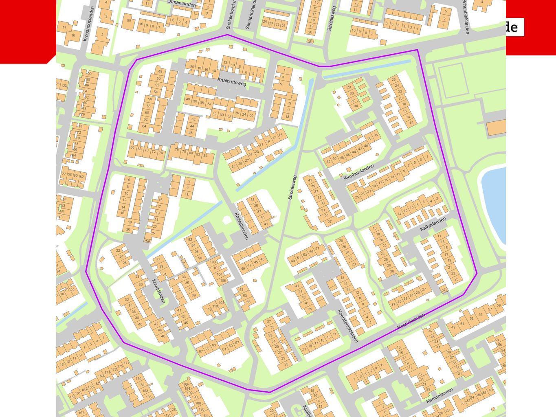 Algemene informatie Uitvoering per buurt: - Reerinklanden - Park Stokhorst
