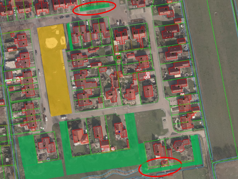 Beoordelen groenstroken > Gemeente beoordeelt dorpsgewijs elke groenstrook > 'Ja, tenzij – principe' > Voorbeeld 7