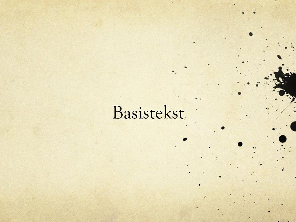 Basistekst