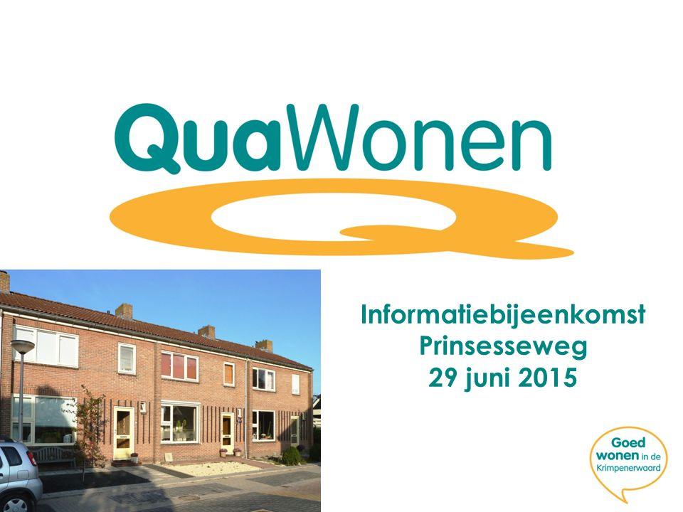 Informatiebijeenkomst Prinsesseweg 29 juni 2015