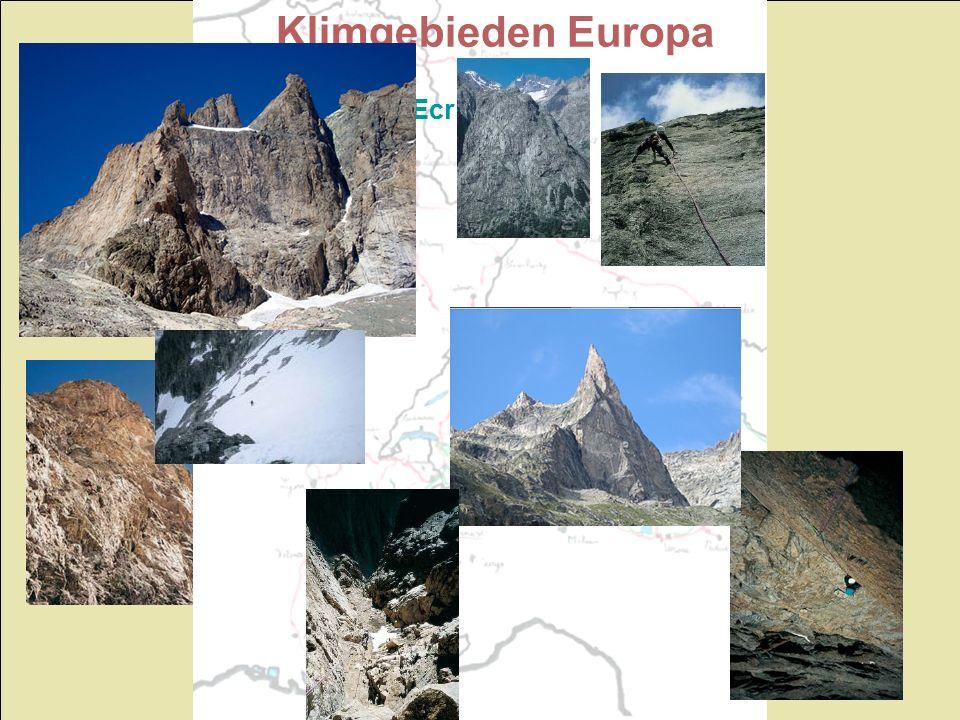 Klimgebieden Europa Ecrins