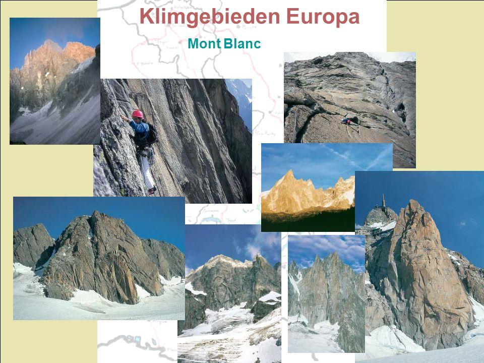 Klimgebieden Europa Mont Blanc