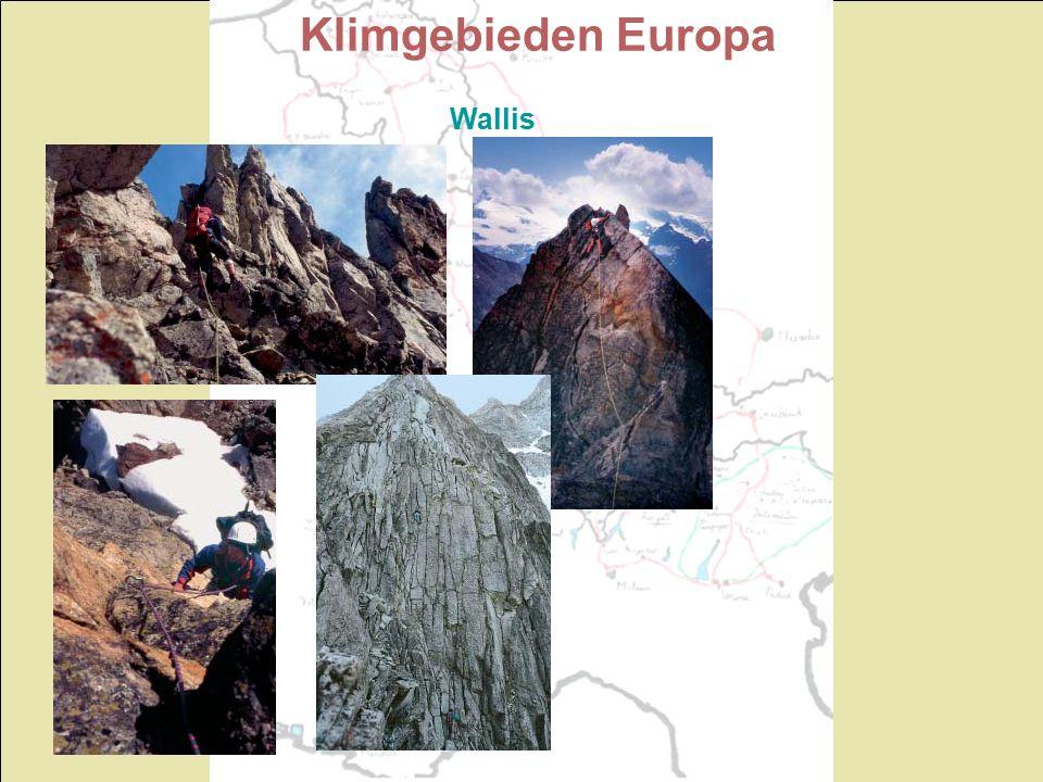 Klimgebieden Europa Wallis