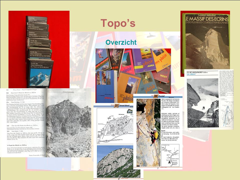Overzicht Topo's