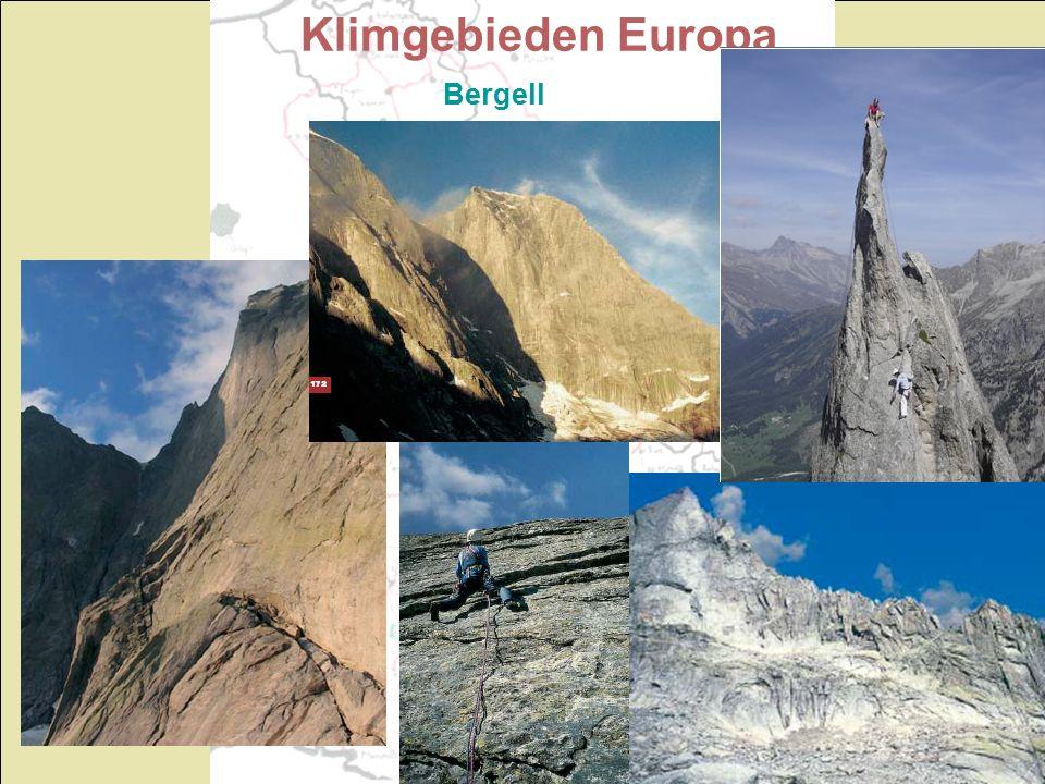 Klimgebieden Europa Bergell