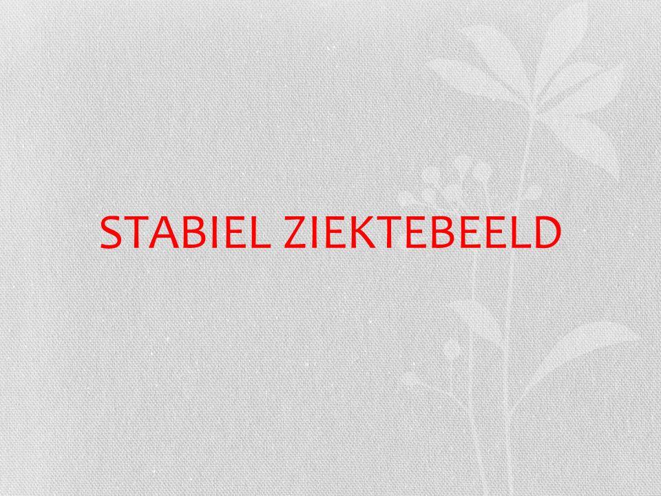 STABIEL ZIEKTEBEELD