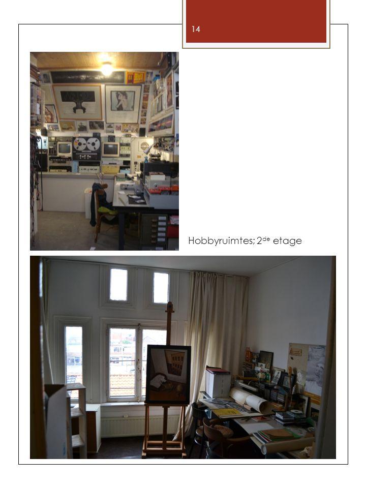 Aan deze informatie kunnen geen rechten worden ontleend 14 Hobbyruimtes; 2 de etage