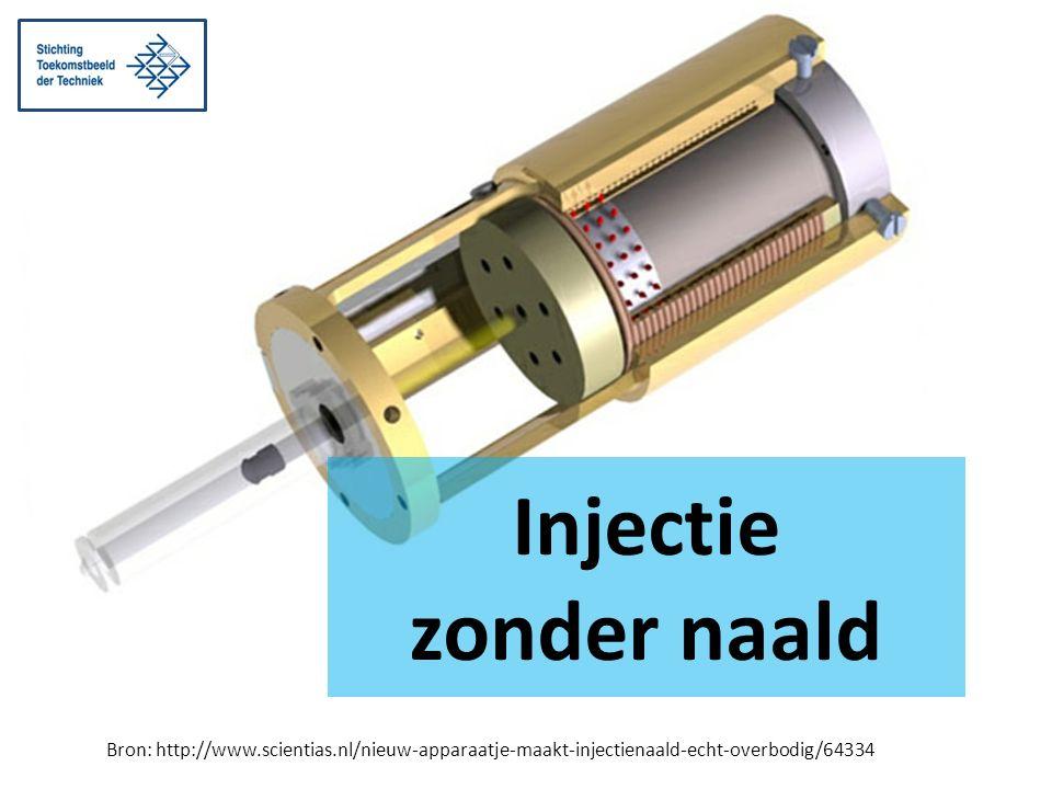Bron: http://www.scientias.nl/nieuw-apparaatje-maakt-injectienaald-echt-overbodig/64334 Injectie zonder naald