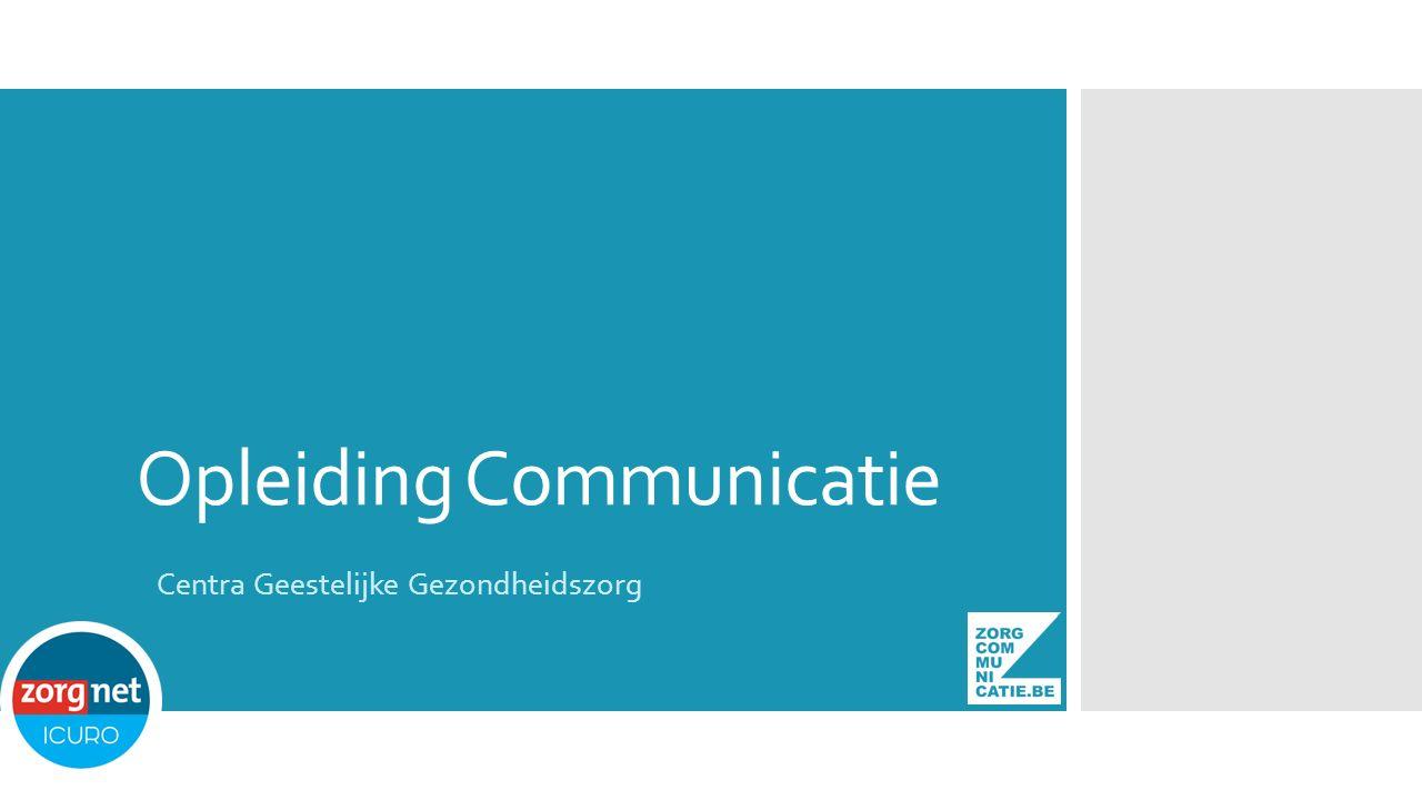Opleiding Communicatie Centra Geestelijke Gezondheidszorg