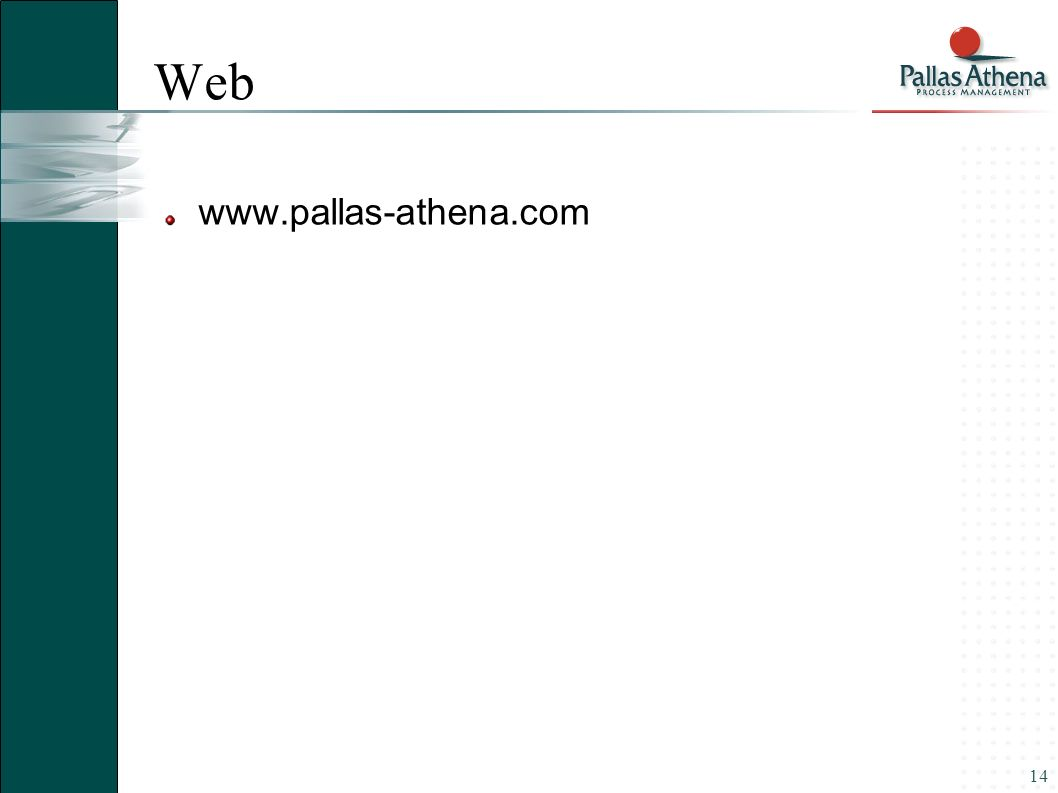 14 Web www.pallas-athena.com
