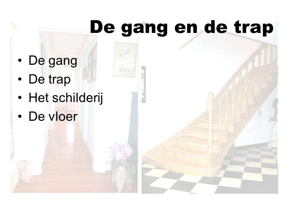 De gang en de trap De gang De trap Het schilderij De vloer
