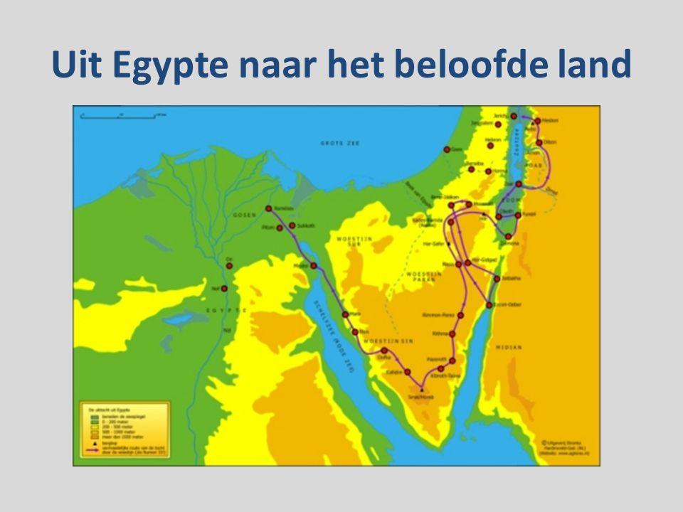 Uit Egypte naar het beloofde land