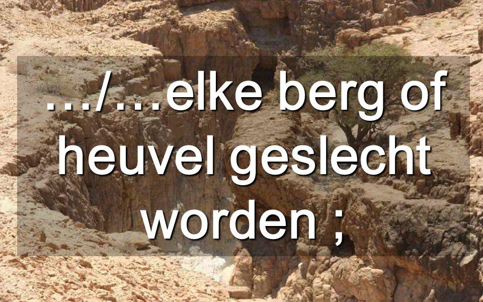 De nieuwe weg moet ophelpen wie vastzitten Wij moeten ten koste van alles naar de gelijkheid Hutten in de woestijn