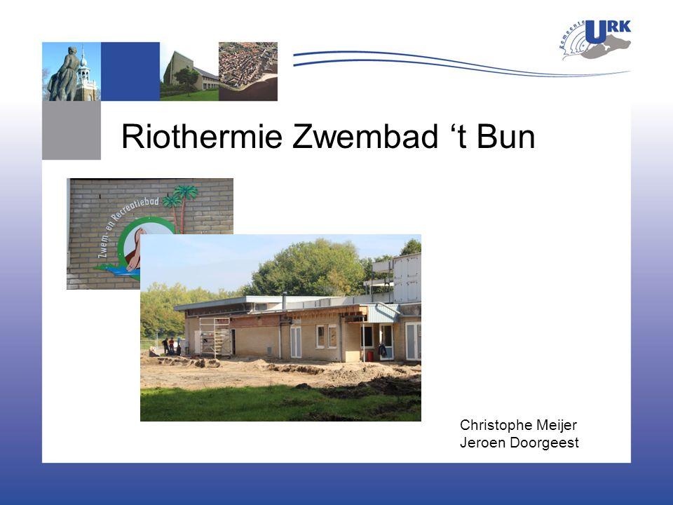 Riothermie Zwembad 't Bun Christophe Meijer Jeroen Doorgeest