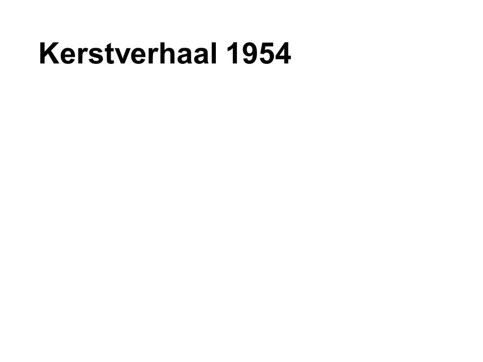 Kerstverhaal 1954