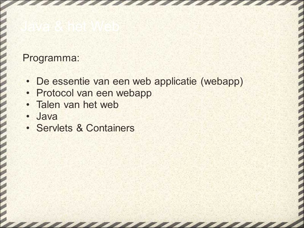 HTTP response....wat is dat(1).