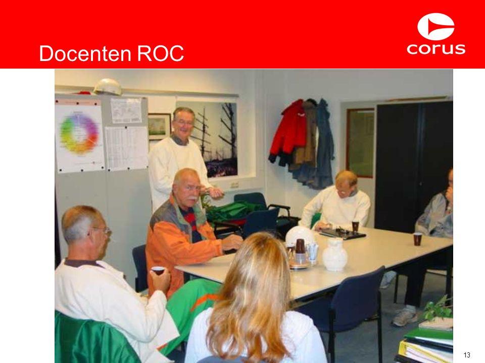 Elders Verworven Competenties13 Docenten ROC