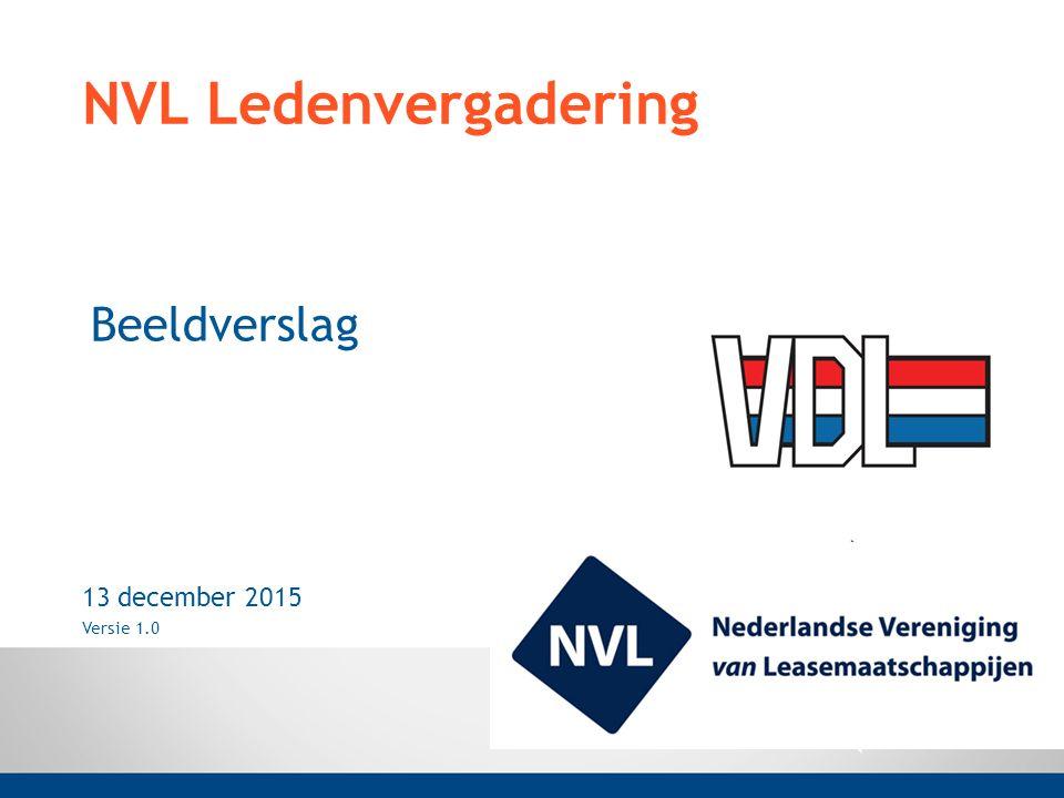 NVL Ledenvergadering Beeldverslag 13 december 2015 Versie 1.0