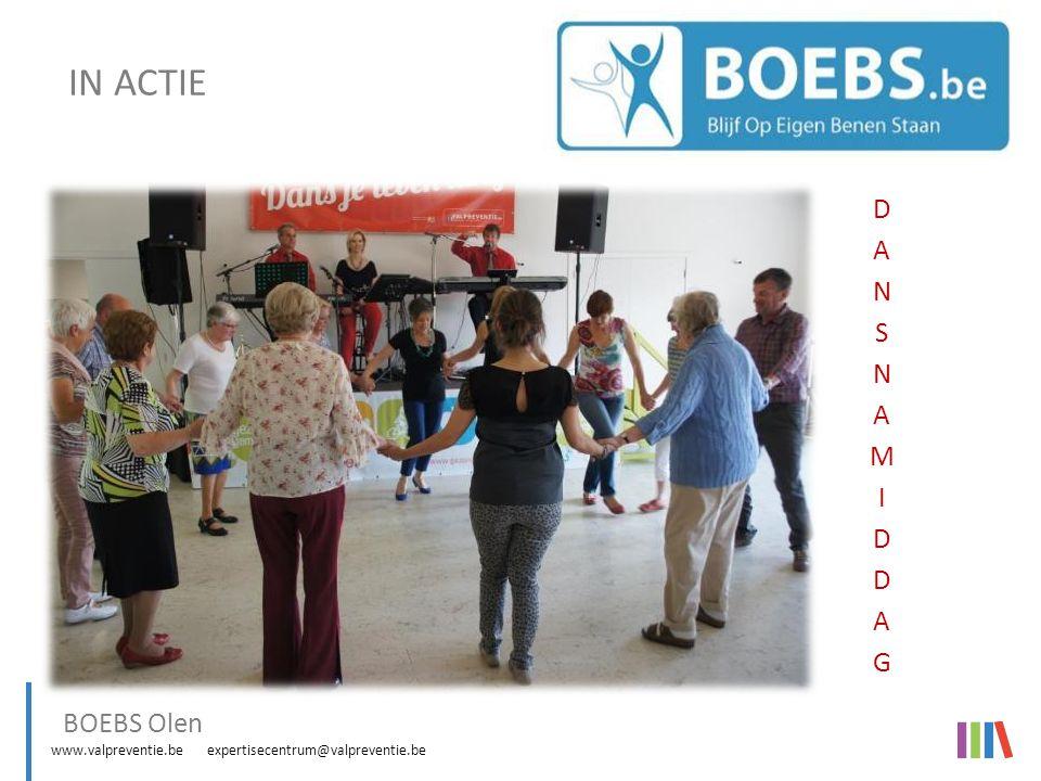 www.valpreventie.be expertisecentrum@valpreventie.be BOEBS (Blijf Op Eigen Benen Staan) IN ACTIE Vorming valpreventie voor professionals