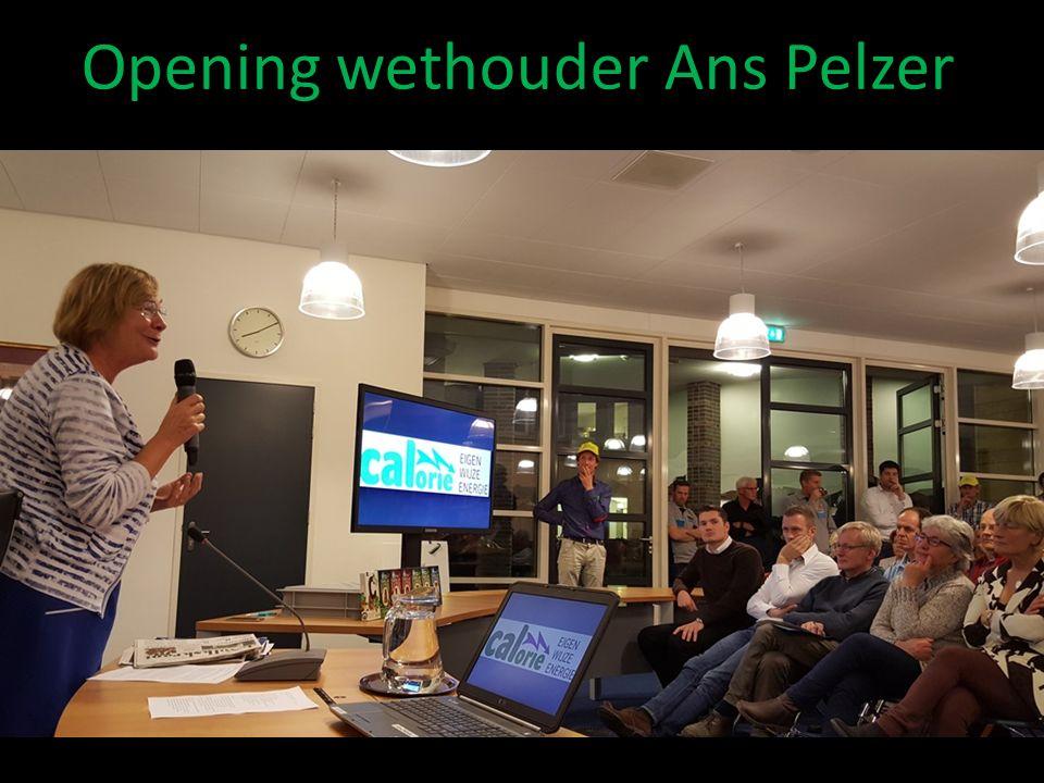 Opening wethouder Ans Pelzer