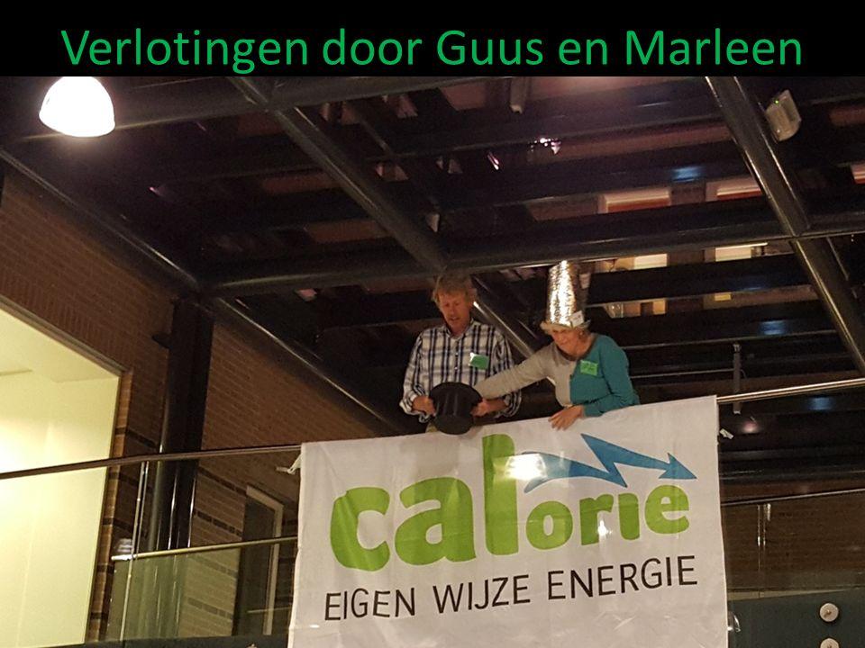Verlotingen door Guus en Marleen