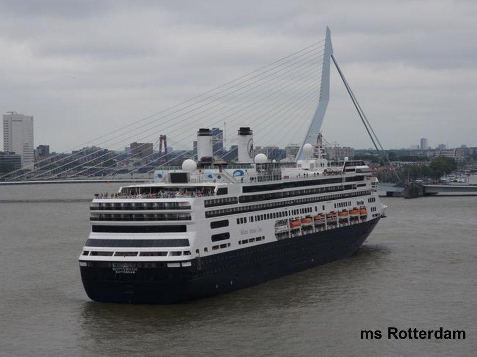 Aanlegsteiger Cruiseschepen Wilhelminapier