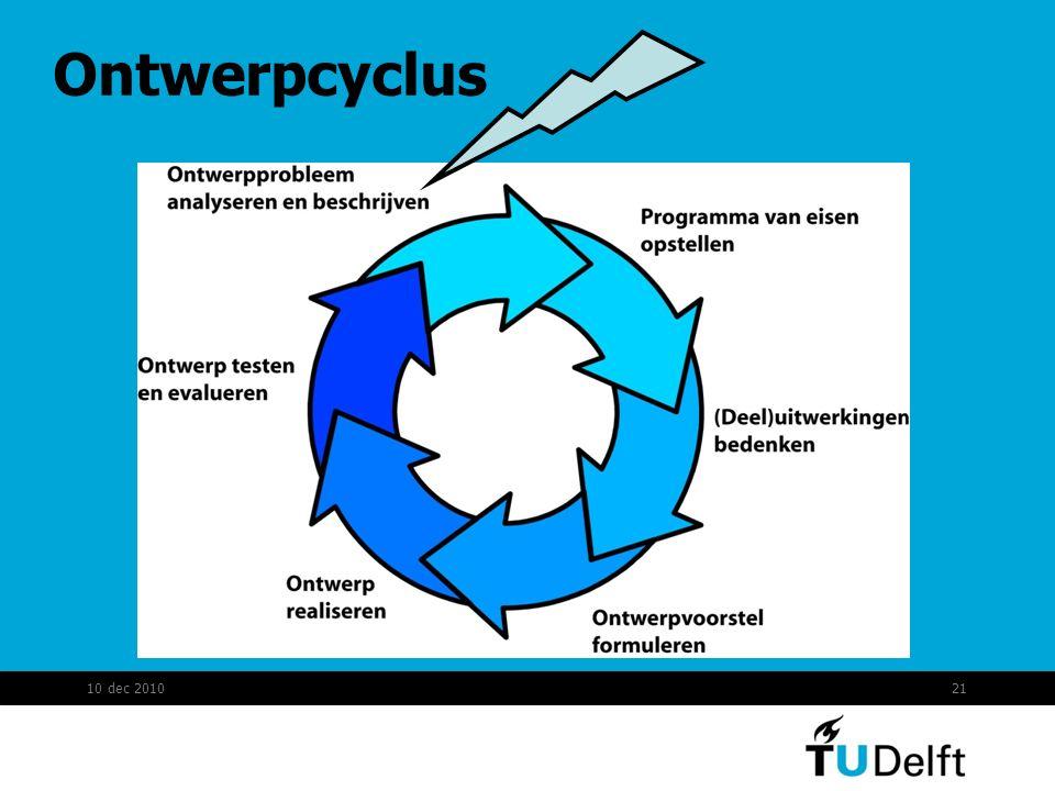 Ontwerpcyclus 10 dec 201021
