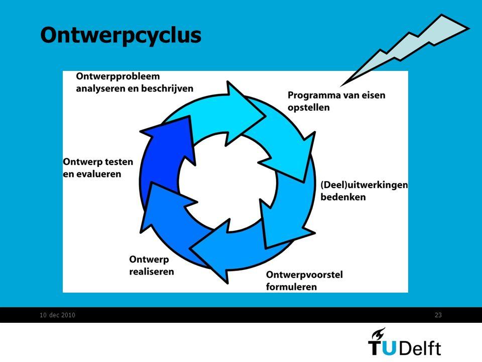 Ontwerpcyclus 10 dec 201023