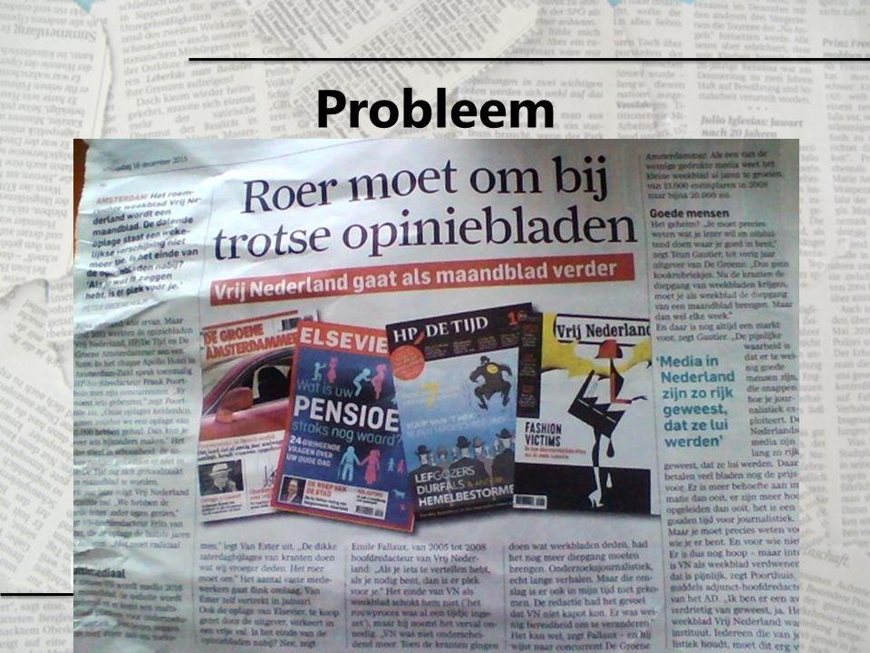 Positionering van uitgevers Het vangen van tijd en aandacht van een mediagebruiker zal steeds lastiger worden.
