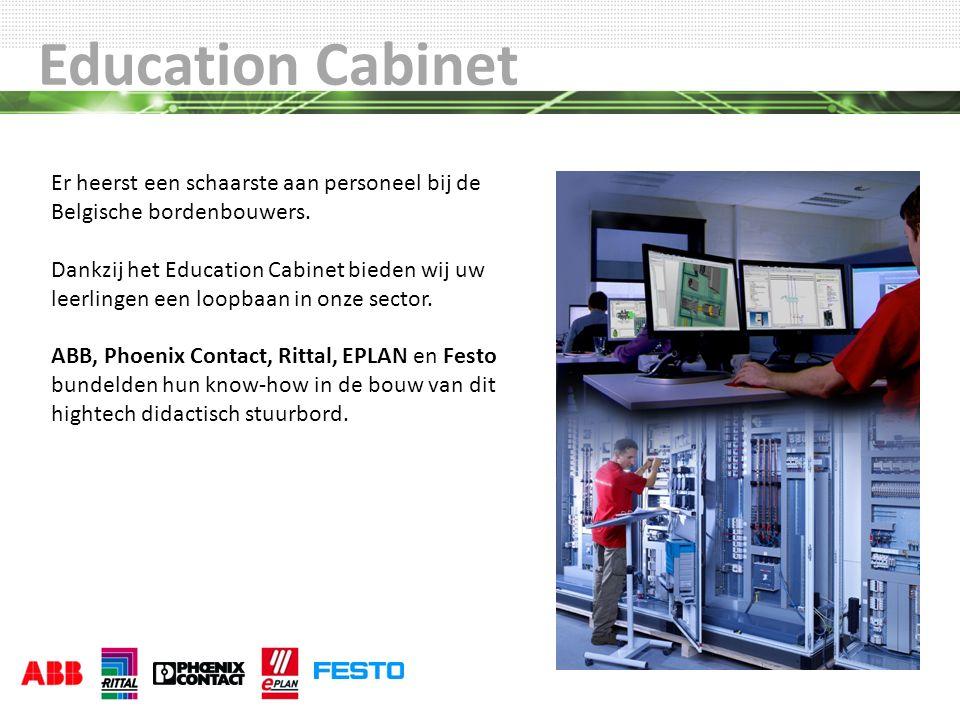 Education Cabinet Er heerst een schaarste aan personeel bij de Belgische bordenbouwers.