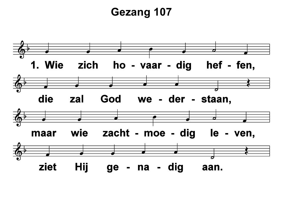 Gezang 107